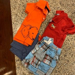 Baby Boys 3 mos 2-piece Outfits Gymboree/Carter's